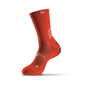 grip socks classic red
