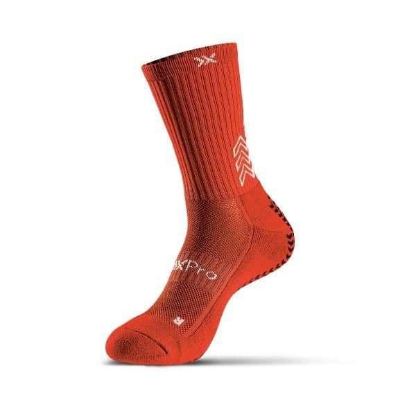 grip socks classic red
