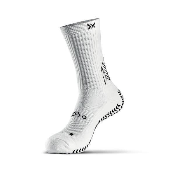 White grip socks