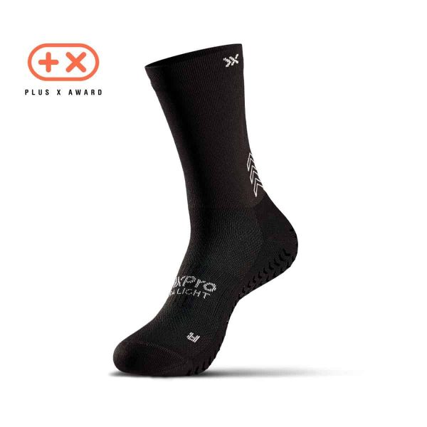Soxpro | Ultra Light Grip Socks | Black