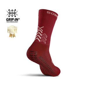 Soxpro | Ultra Light Grip Socks | Bordeaux