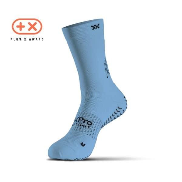 Soxpro | Ultra Light Grip Socks | Light Blue
