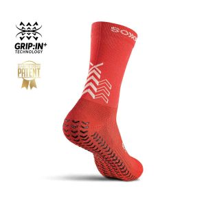 Soxpro | Ultra Light Grip Socks | Red