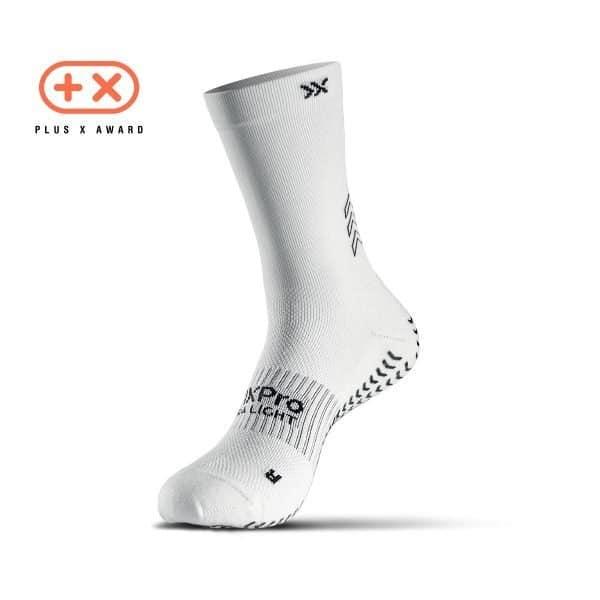 Soxpro | Ultra Light Grip Socks | White