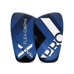 blue shin guards