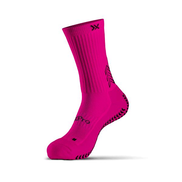 Soxpro Grip Socks Fucsia Fluo