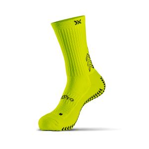 calcetines grip classic amarillo fluo