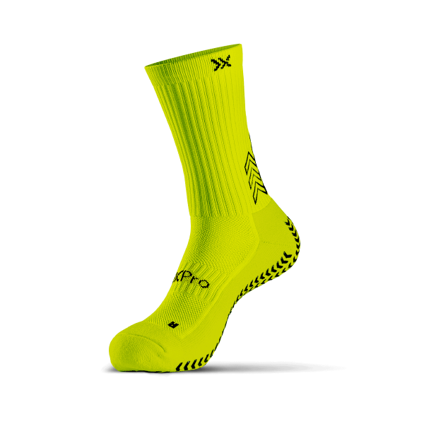 grip socks classic yellow fluo